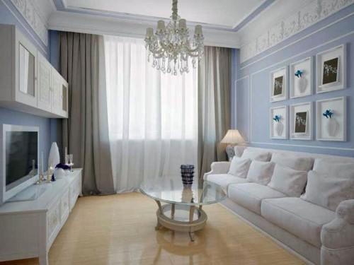 Дизайн маленького зала