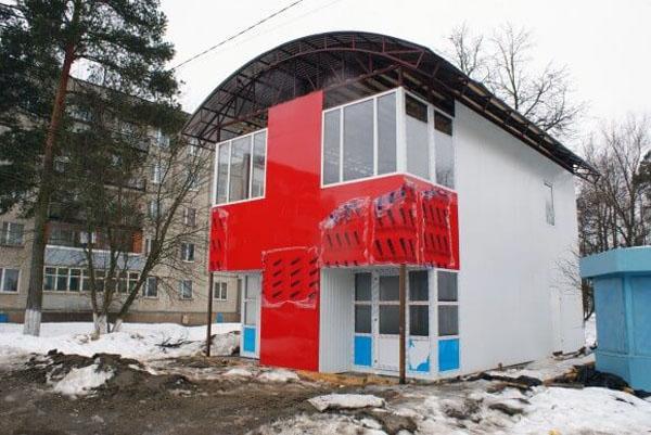 Современные здания из сэндвич панелей