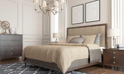 Как оформить спальню в бежевых тонах