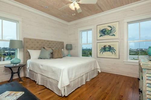 Дизайн бежевой спальни
