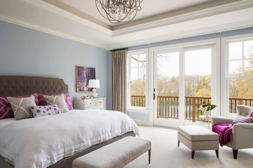 Балкон в спальне