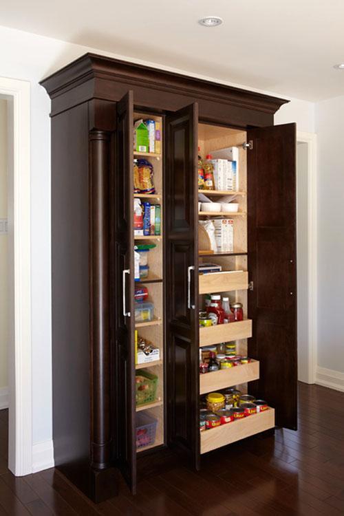 Индивидуальный дизайн шкафа для кухни