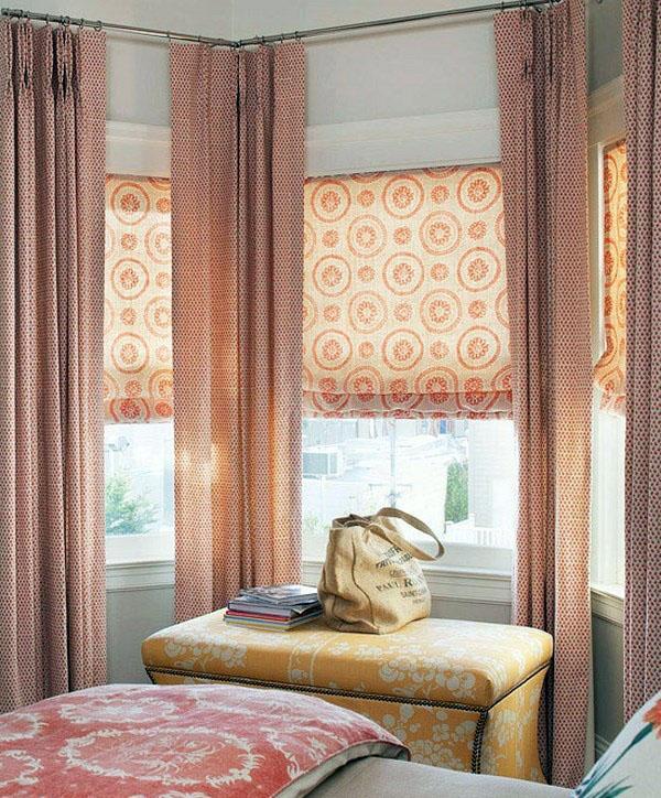 Занавески, очаровательный и элегантный элемент интерьера.
