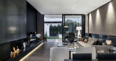 Черно-белая мебель - восхитительные контрасты в дизайне интерьера
