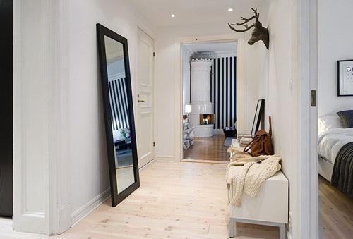 Окрашивание стен белым. Дизайн квартиры.