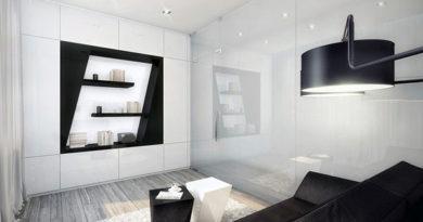 Современная гостиная идеи черно-белый дизайн гостиной