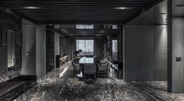 Потрясающий черный столовой декор идеи столовой идеи мебель…