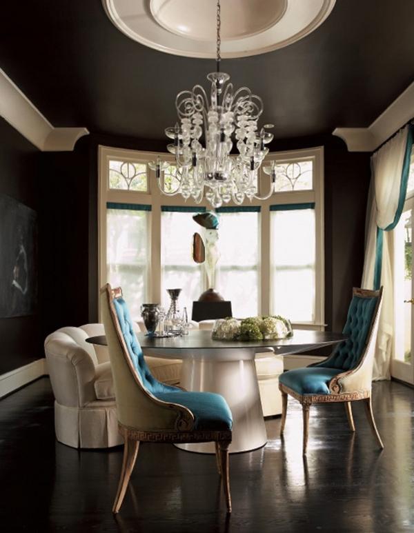 Современные столовые комнаты.