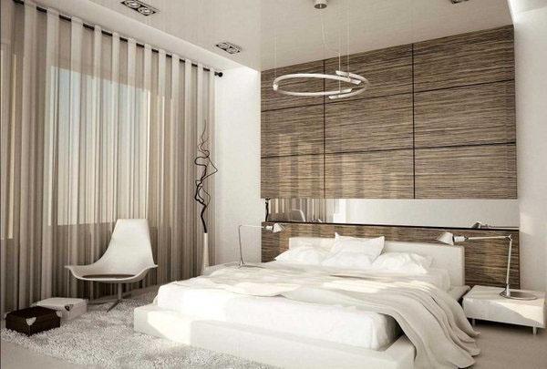 Современные идеи мебели для маленькой спальни