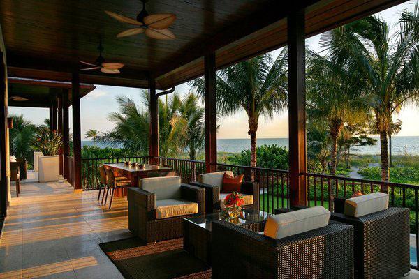 Идеи по декорированию мебели из тропического дерева.