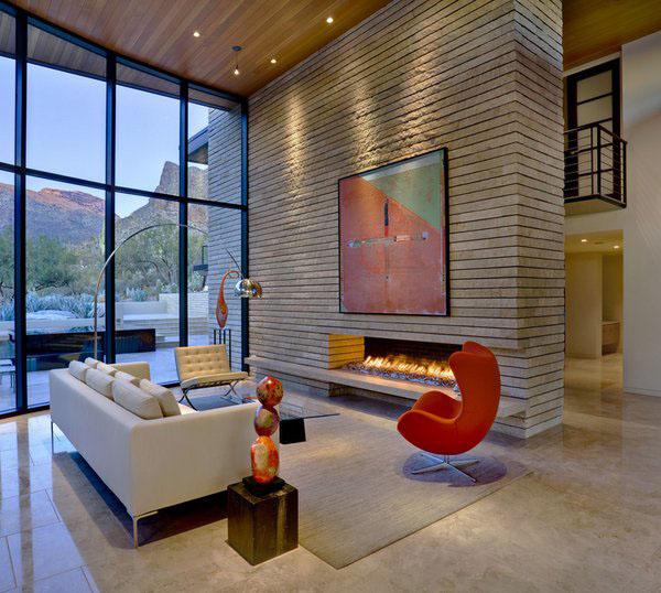 Идеи минималистская гостиная