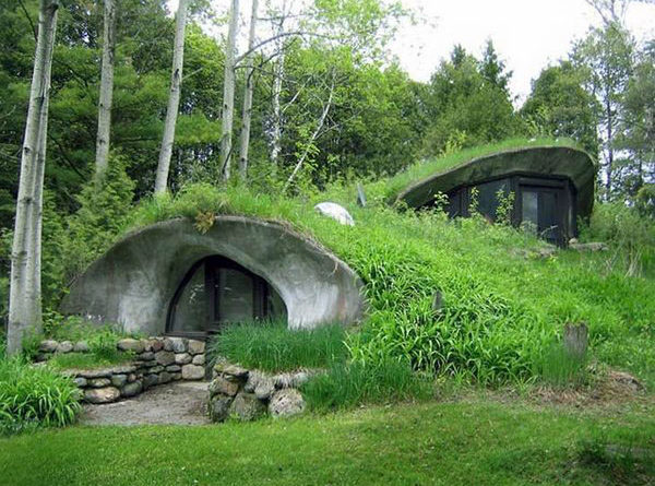 идеи проектов подземных домов