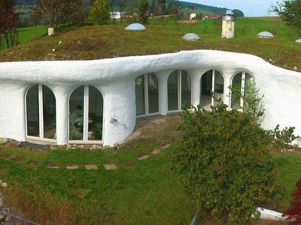 Идеи домов в подземельях