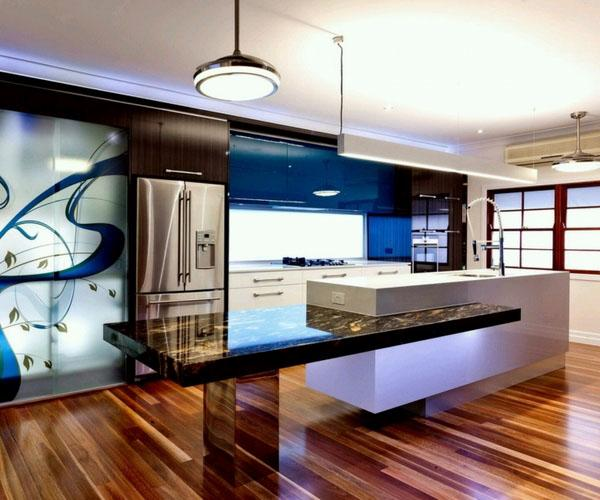 Уникальные дизайнерские идеи для кухни