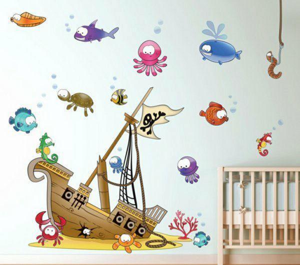 Симпатичные детские наклейки для детей - идеи для девочек
