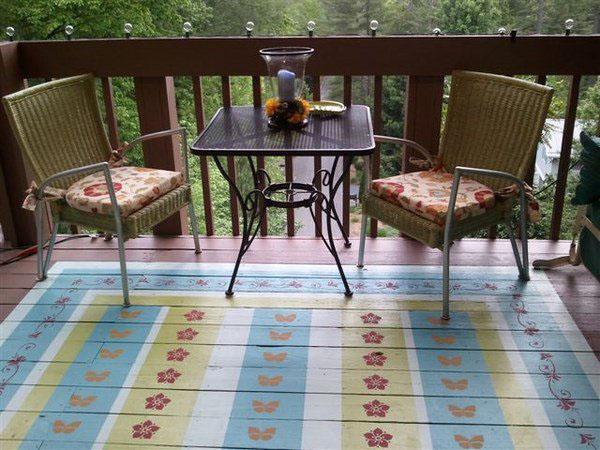 Опции и полезные советы для красочной веранды