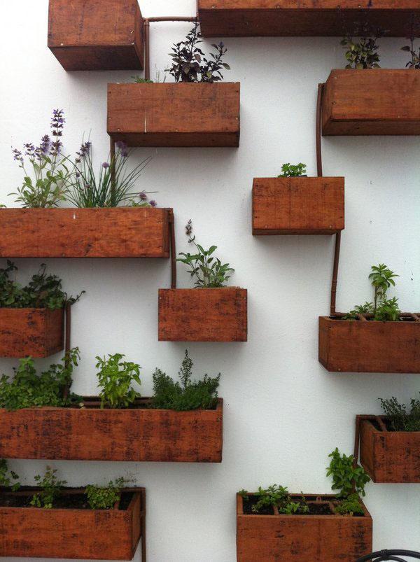 Настенные деревянные коробки
