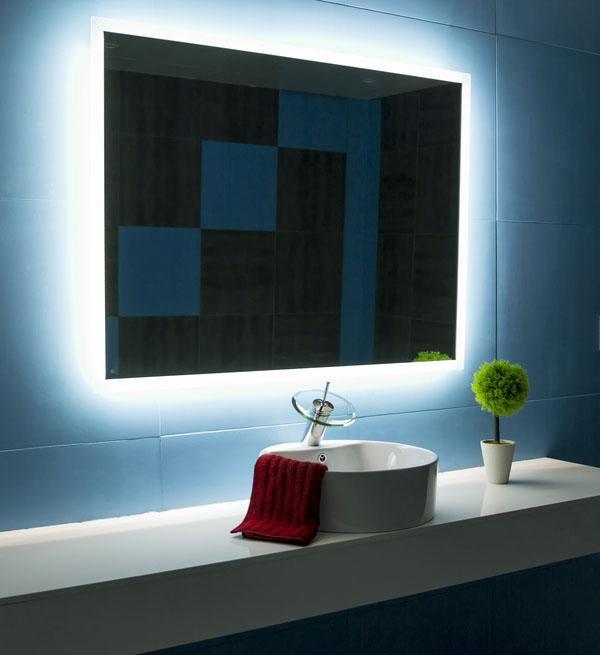 Зеркало современный дизайн плавающий тщеславие автономная ванна