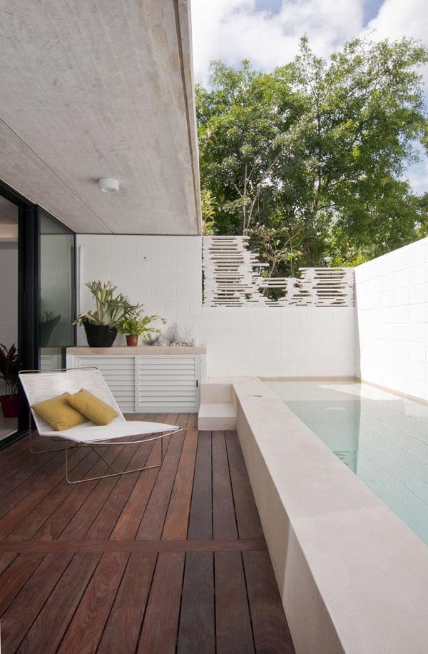 Маленькие идеи бассейна с небольшим бассейном