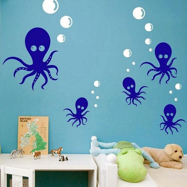 Идеи для мальчиков, морские осьминоги.