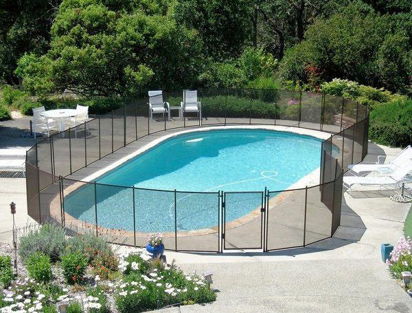 ограждение для бассейна