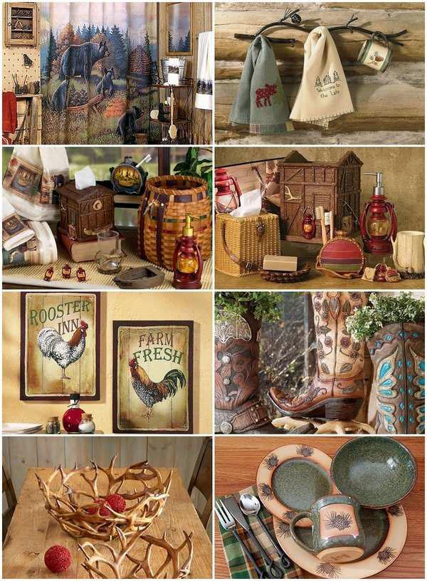 бревенчатый домик-декор-идея-дом-аксессуары-идеи