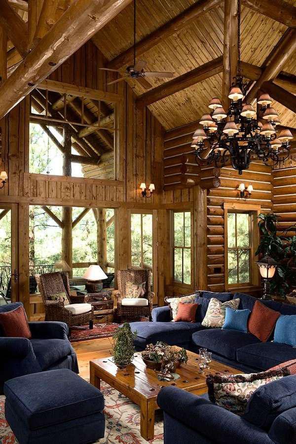Идеи оформления деревянной лоджии