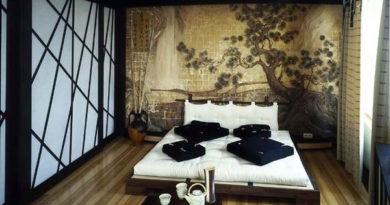 Спальня в Японском стиле
