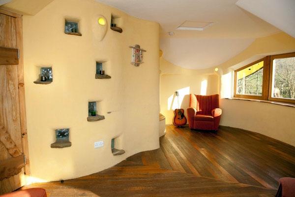 Идеи Cob house - очаровательная простота дизайна интерьера