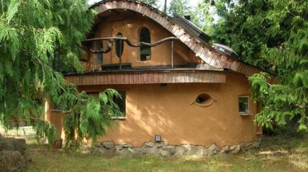 Как построить дом из глины.