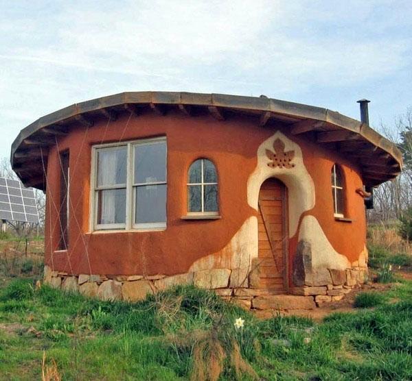 Зеленая архитектура глиняная каменная юбка.