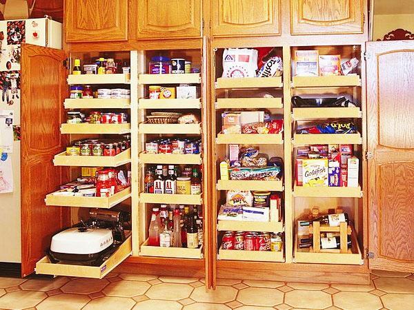Корпусная-кухня-кладовая-кухня-хранения-идеи