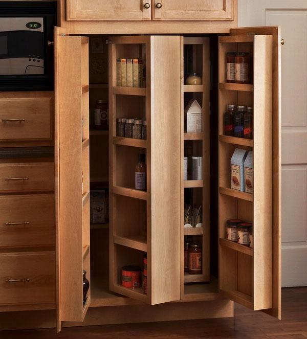 небольшие кухонные шкафы-идея-кухня-свободностоящий-кладовая-кабинет.
