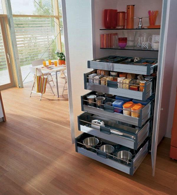 Кухня-хранения-шкафы-идея-отдельно стоящая-кладовая-краснодеревщики конструкция.