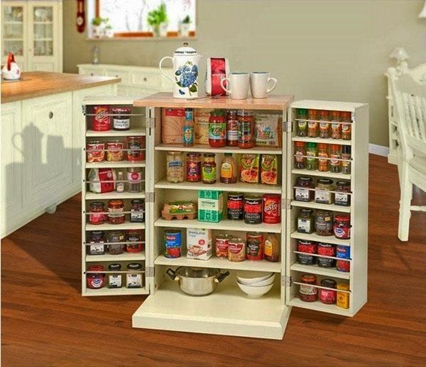 Кухня-хранения-шкафы-идея