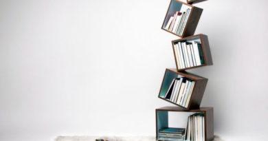Уникальные идеи для книжных стеллажей