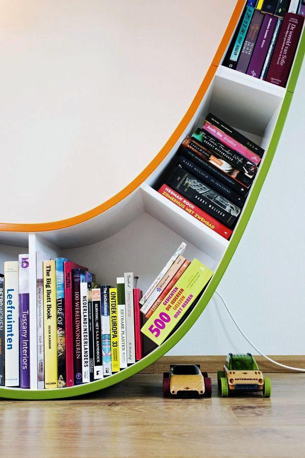 Уникальные книжные шкафы, идеальные книжные полки.