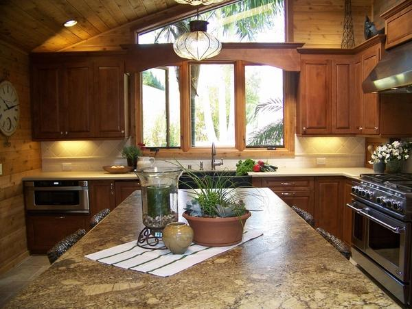 современные кухонные кухонные столешницы