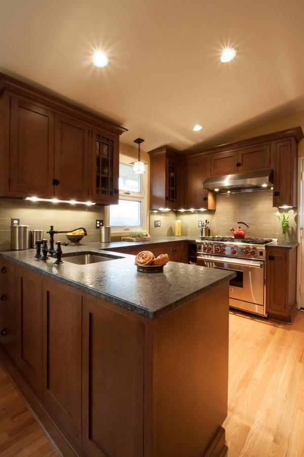 современная кухня выдержанная кухня кухни острова идеи