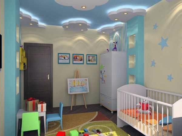 Идеи потолочного декорирования