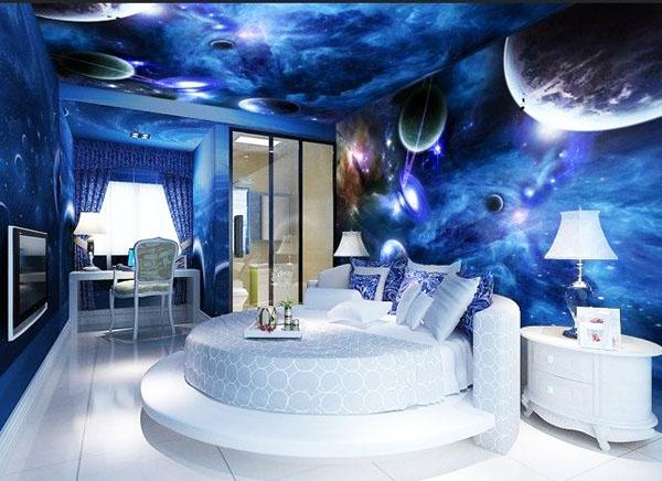Креативный потолок для детской комнаты
