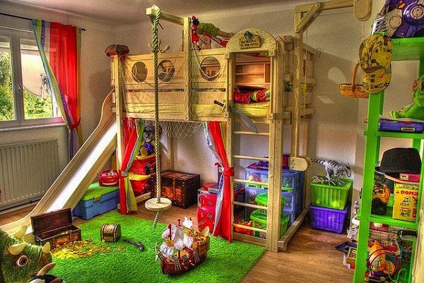 Лофт-кровати для детской