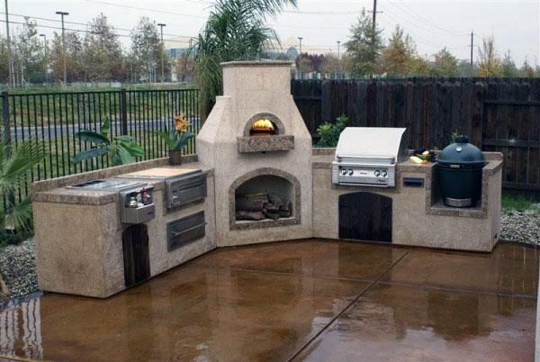 дизайн кухни на открытом воздухе