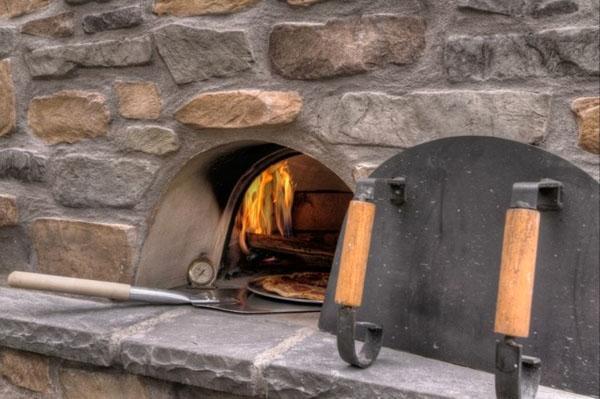 DIY патио идеи для каминов напольные кухни