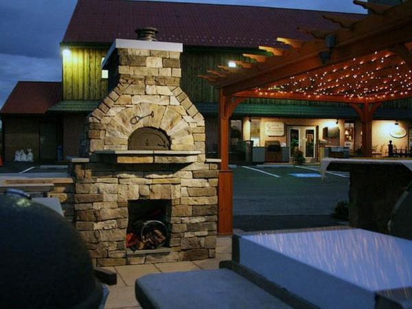 идеи дизайна внутреннего дворика на открытом воздухе