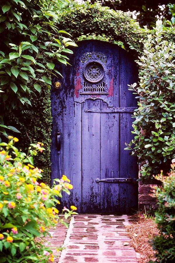 садовые ворота фото