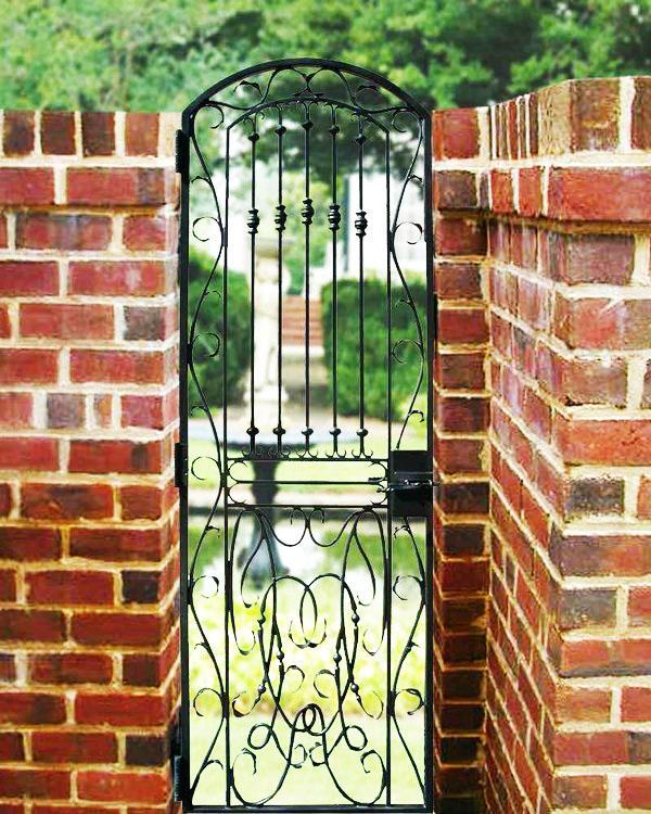 Кованные садовые ворота фото