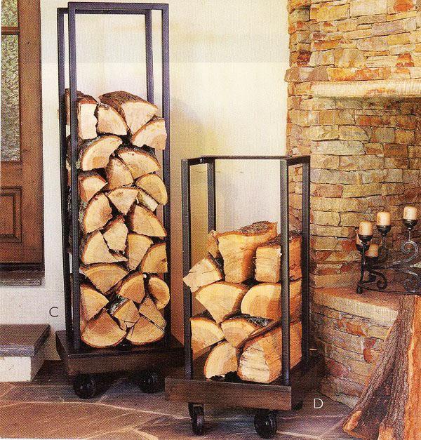 портативные держатели для дров