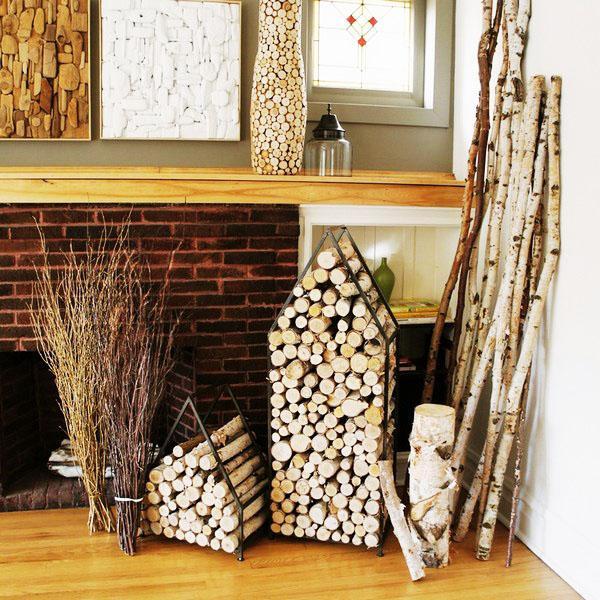 старинный деревянный держатель деревенский декор