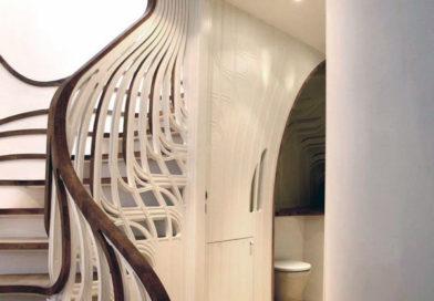 Самые удивительные перила для лестниц — 25 лучших дизайнерских идей.